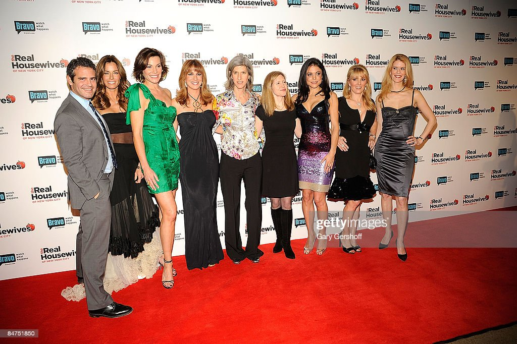 SVP of Programming Bravo Andy Cohen reality TV stars Kelly Killoren Bensimon LuAnn de Lesseps Jill Zarin President Women and Lifestyle Networks NBC...