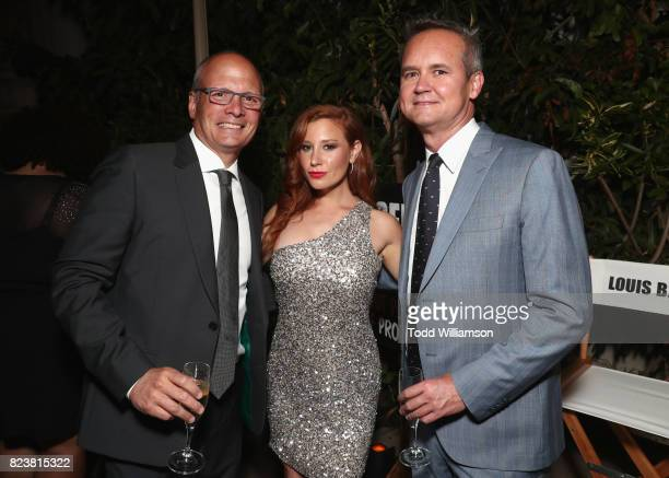 VP of Public Relations at Amazon Craig Berman Lila Feinberg and Head of Amazon Studios Roy Price at the Amazon Prime Video premiere of the original...