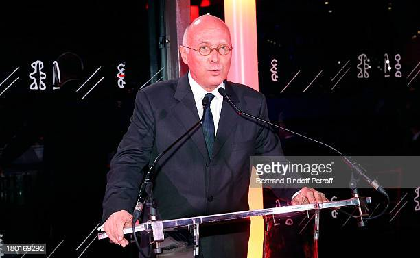 CEO of Quai Branly Museum Stephane Martin attends 'Friends of Quai Branly Museum Society' dinner party at Musee du Quai Branly on September 9 2013 in...