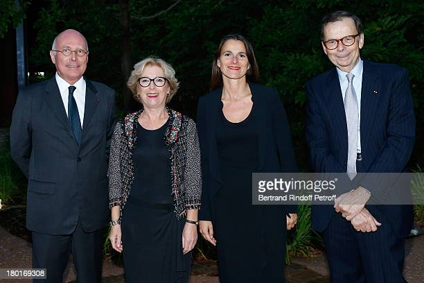 CEO of Quai Branly Museum Stephane Martin Minister of Higher Education and Research Genevieve Fioraso Minister of Culture and Communication Aurelie...