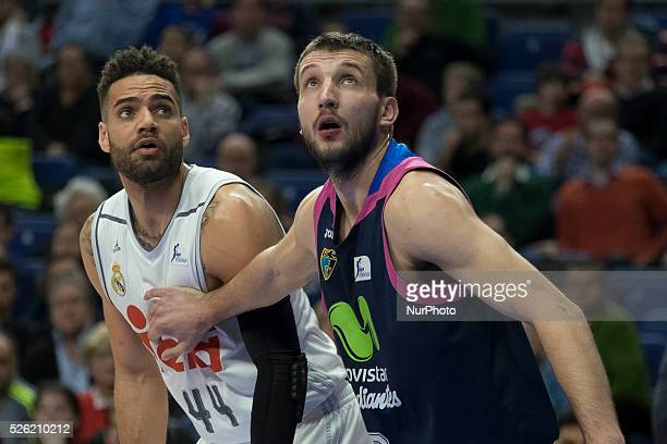 TAYLOR of Real Madrid player during Real Madrid vs Estudiantes their ACB Basketball League game played at Sports Palace of Madrid Spain on 07...
