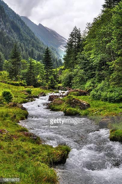 HDR river Landschaft (Österreich