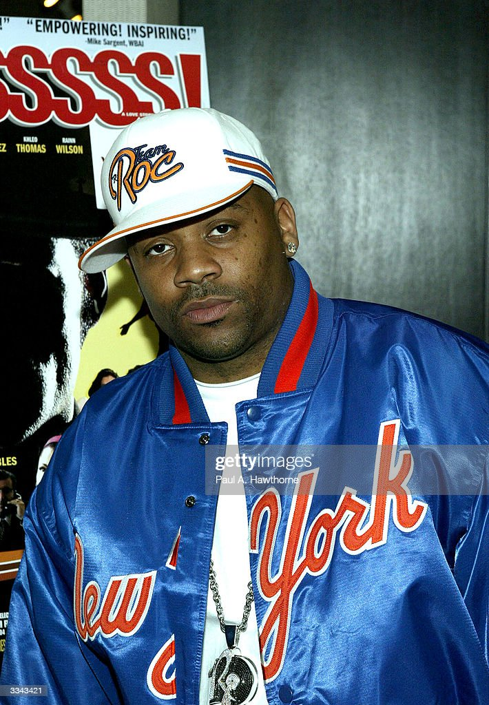 CEO of Roc-A-Fella Records/Rocawear Damon Dash hosts a viewing of 'Baadasssss!' at the Sony Screening Room, April 12, 2004 in New York City.