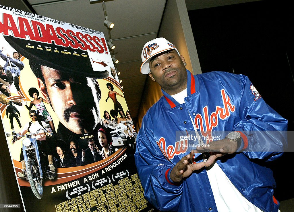 CEO of Roc-A-Fella Records/Rocawear Damon Dash hosts a viewing of 'Baadasssss!' at the Sony Screening Room on April 12, 2004 in New York City.