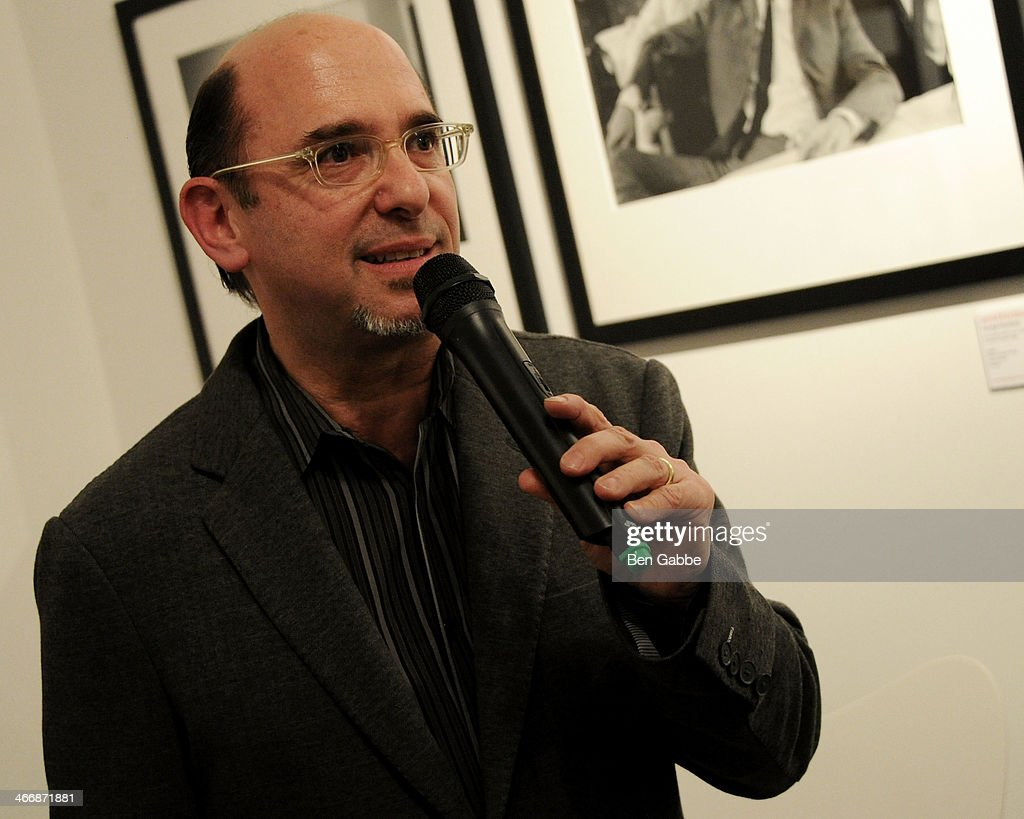 CMO of Rock Paper Photo Ed Baum attends The Beatles 50 Year Commemorative Anniversary photo exhibit at Rock Paper Photo NYC Pop Up Gallery on February 4, 2014 in New York City.