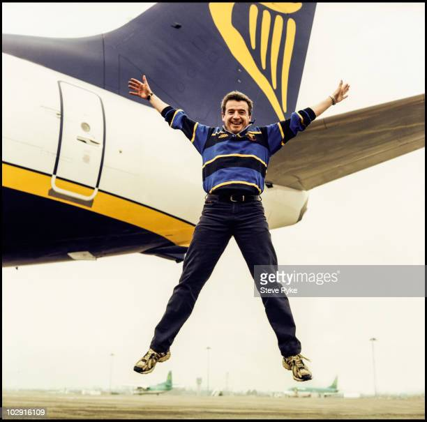 CEO of Ryan Air Michael O'Leary poses for a portrait shoot in London UK