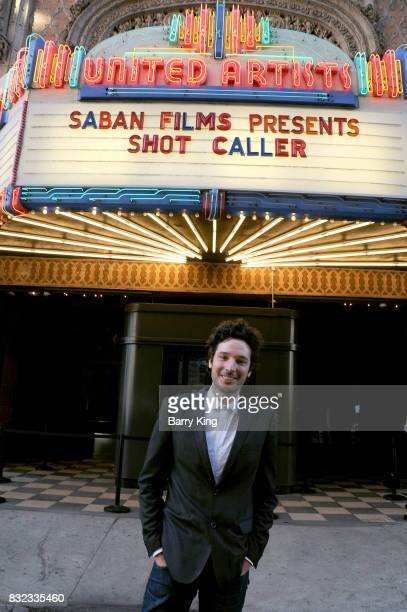 VP of sales marketing and distribution of Saba Films Jonathan Saba attends screening of Saban Films and DIRECTV's' 'Shot Caller' at The Theatre at...