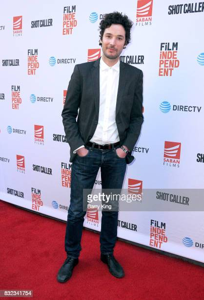 VP of sales marketing and distrubution of Saban Films Jonathan Saba attends screening of Saban Films and DIRECTV's' 'Shot Caller' at The Theatre at...