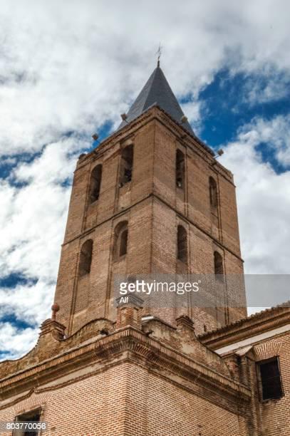 BELL TOWER of SAN NICOLÁS DE BARI CHURCH in Madrigal de las Altas Torres,  Avila , Spain