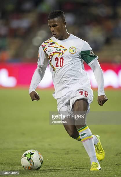 BALDÉ of Senegal during the quarterfinal match between Senegal and Cameroon at Stade Franceville on January 28 2017 in Franceville Gabon