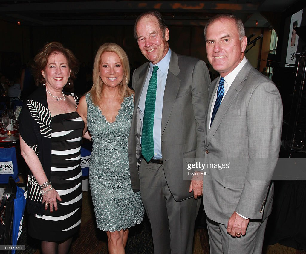 VOICES of September 11th founder Mary Fetchet, <a gi-track='captionPersonalityLinkClicked' href=/galleries/search?phrase=Kathie+Lee+Gifford&family=editorial&specificpeople=203269 ng-click='$event.stopPropagation()'>Kathie Lee Gifford</a>, 9/11 Commission co-chair <a gi-track='captionPersonalityLinkClicked' href=/galleries/search?phrase=Thomas+Kean&family=editorial&specificpeople=206474 ng-click='$event.stopPropagation()'>Thomas Kean</a>, and Frank Fetchet attend the 5th Annual Always Remember Gala at Pier Sixty at Chelsea Piers on June 20, 2012 in New York City.