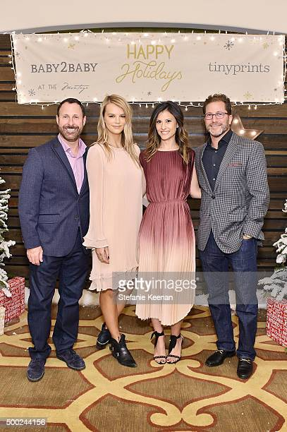 CEO of Shutterfly Inc Jeffrey Housenbold copresidents of Baby2Baby Kelly Sawyer Patricof Norah Weinstein and chief marketing officer of Shutterfly...