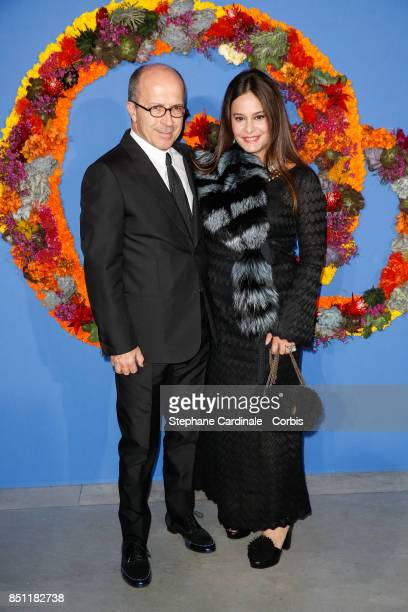 CEO of Sonia Rykiel JeanMarc Loubier and his wife Hedieh attends the Opening Season Gala at Opera Garnier on September 21 2017 in Paris France