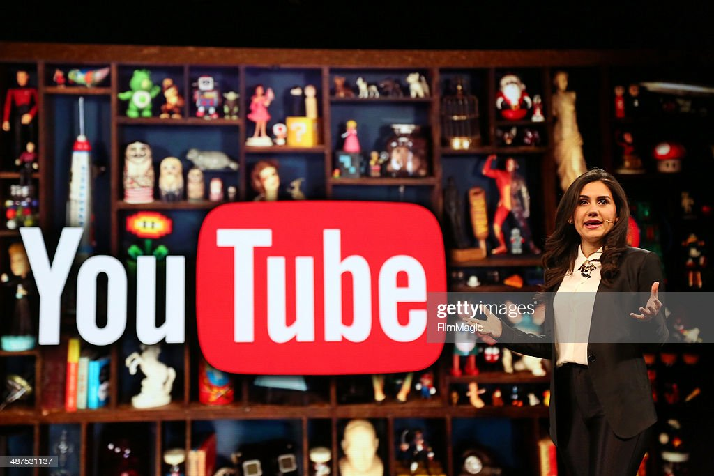 CEO of SoulPancake Shabnam Mogharabi speaks on stage at Google presents YouTube Brandcast event at The Theater at Madison Square Garden on April 30, 2014 in New York City.