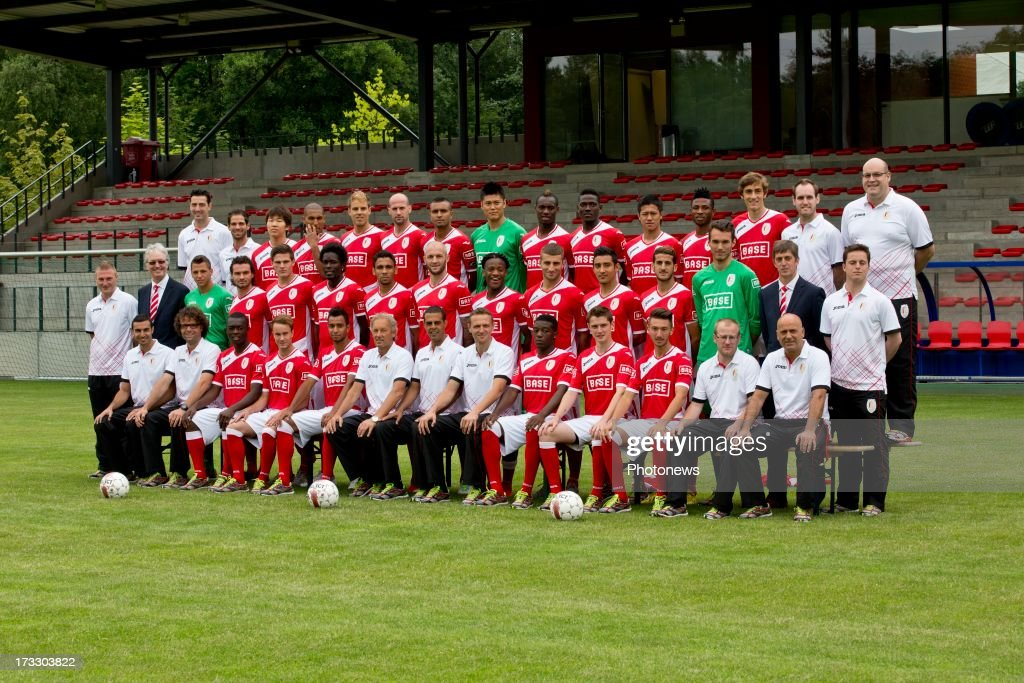 PHOTO of Standard de Liege pictured during the photocall session of Standard de Liege on July 11 2013 in Liege Belgium