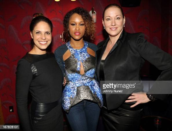 CEO of Starfish Media Group/ media personality Soledad O'Brien actress/ recording artist Eve and entrepreneur Amy Sacco attend The XX Project at No 8...