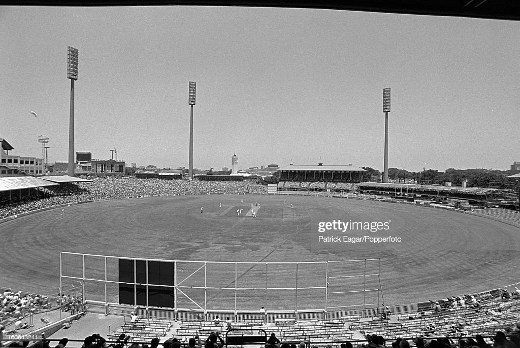 GV of Sydney Cricket Ground 4th Test Australia v England Sydney January 197879