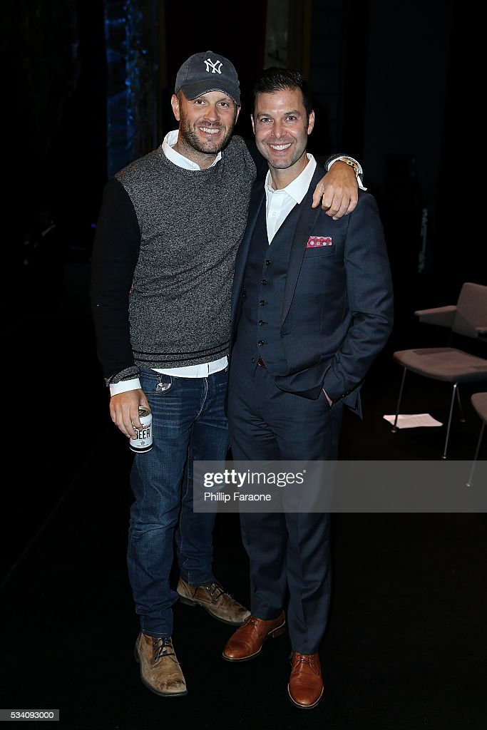 SVP of TBS original programming Thom Hinkle and Executive VP of TBS original programming Brett Weitz attend TBS's A Night Out With For Your...