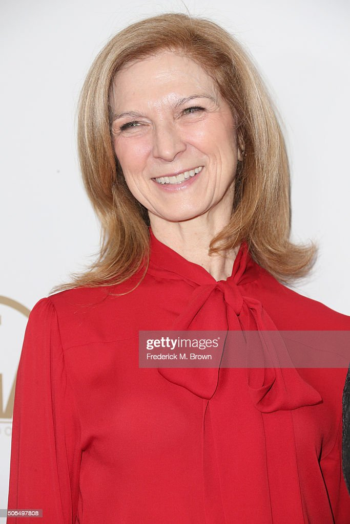 CEO of the Academy of Motion Picture Arts and Sciences Dawn Hudson attends 27th Annual Producers Guild Of America Awards at the Hyatt Regency Century...