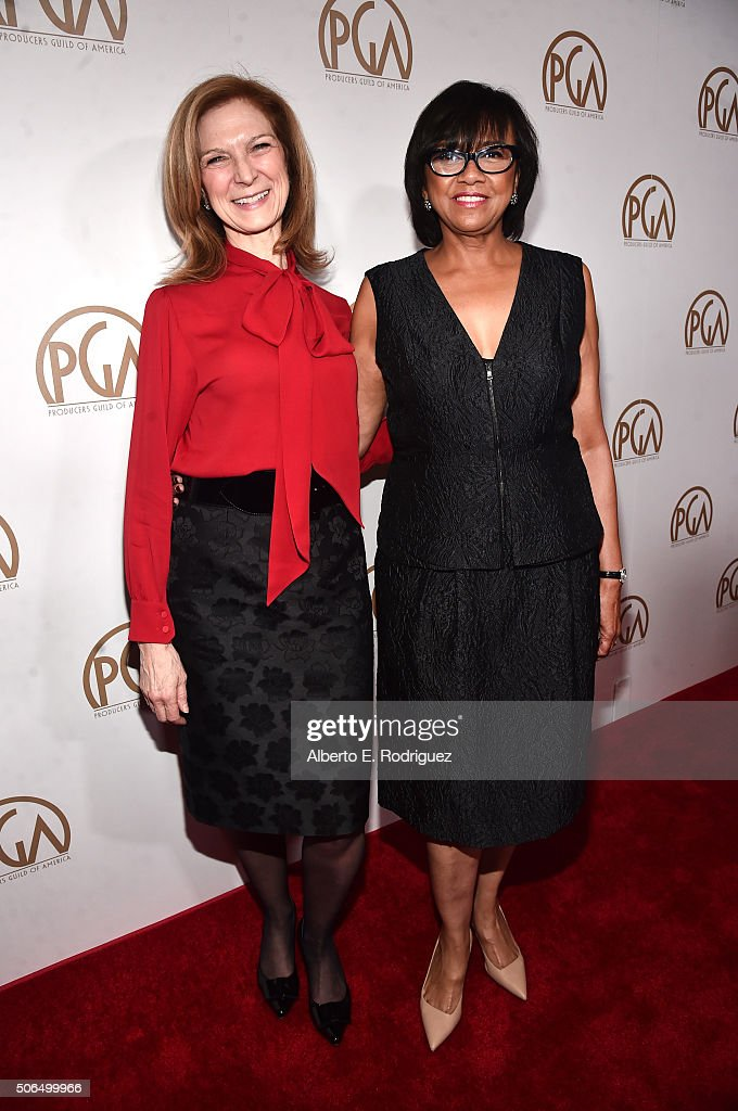 CEO of the Academy of Motion Picture Arts and Sciences Dawn Hudson and President of the Academy of Motion Picture Arts and Sciences Cheryl Boone...