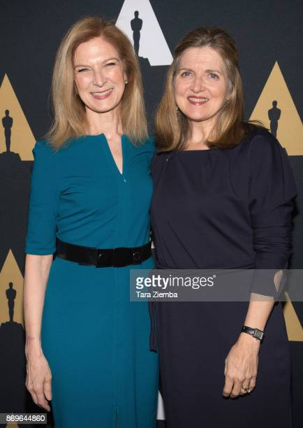 CEO of the Academy of Motion Picture Arts and Sciences Dawn Hudson and Academy Governor and chair of the Nicholl Fellowships In Screenwriting Robin...