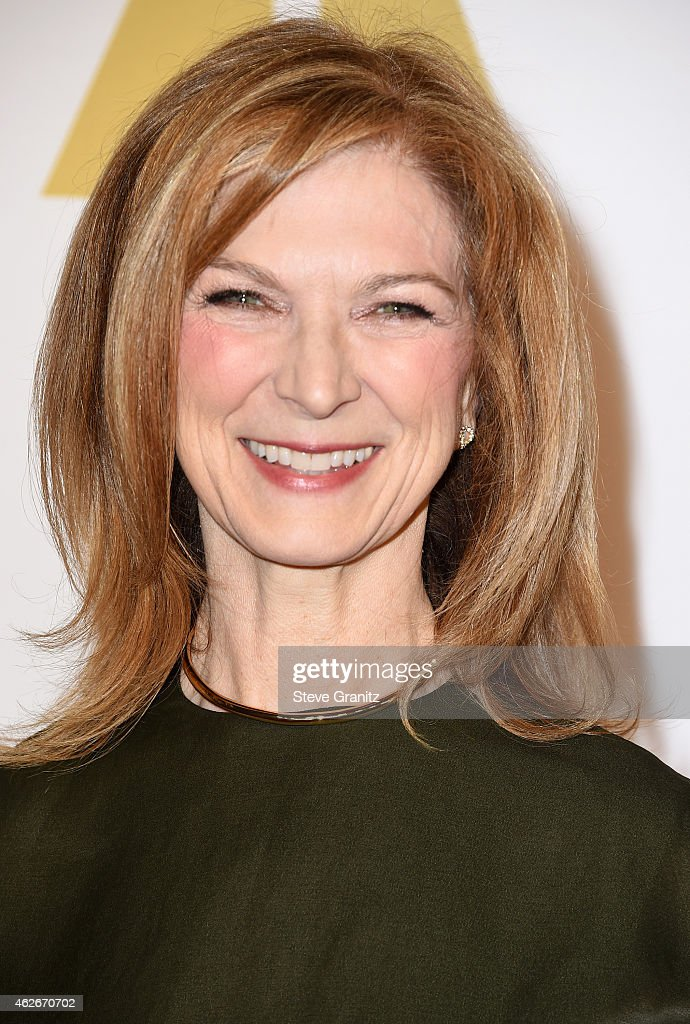 CEO of the Academy of Motion Picture Arts and Sciences Dawn Hudson attends the 87th Annual Academy Awards Nominee Luncheon at The Beverly Hilton...