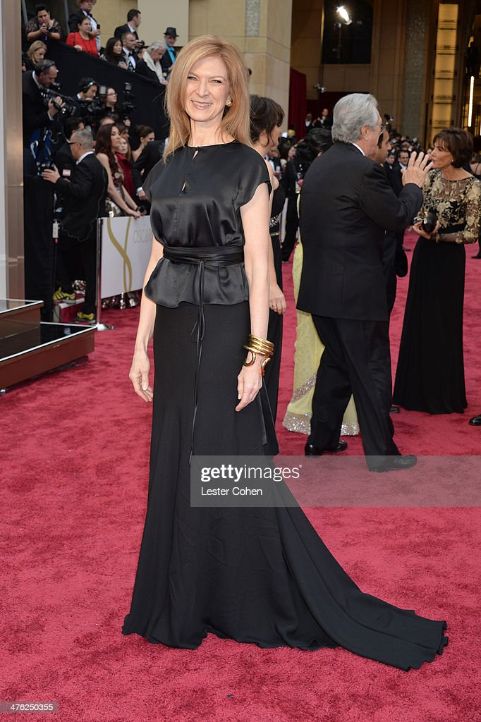CEO of the Academy of Motion Picture Arts and Sciences Dawn Hudson attends the Oscars held at Hollywood Highland Center on March 2 2014 in Hollywood...
