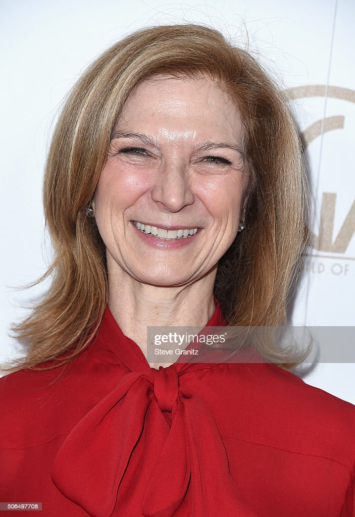 CEO of the Academy of Motion Picture Arts and Sciences Dawn Hudson attends the 27th Annual Producers Guild Awards at the Hyatt Regency Century Plaza...