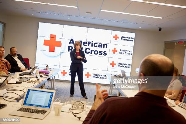 CEO of the American Red Cross Gail McGovern is photographed for Delta Sky Magazine on January 27 2017 in Washington DC PUBLISHED IMAGE ON EMBARGO...
