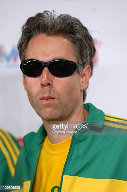 MCA of the Beastie Boys during MTV Video Music Awards Latin America 2004 Arrivals at Jackie Gleason Theater in Miami Florida United States