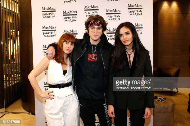 DJ of the event Cecile Togni GabrielKane DayLewis and Laura Bensadoun attend the Max Mara 'Prism in Motion' Eventas with the presentation of the new...