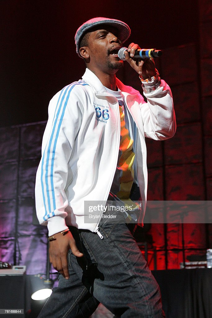 M1 of the group Dead Prez performs onstage at the 2007 JAM awards and concert at Hammerstein Ballroom on November 29 2007 in New York City
