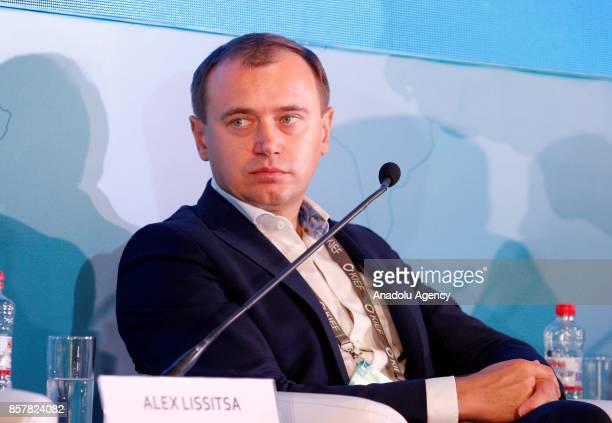 CEO of the IMC President of the Association «Ukrainian Agribusiness Club» Alex Lissitsa attends the 'Kyiv International Economic Forum 2017' in Kiev...