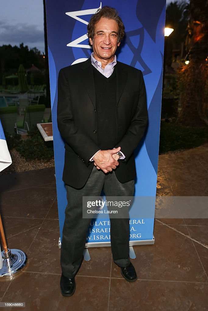 CEO of the Jewish federation of the desert Bruce Landgarten attends the Israeli reception at the Palm Springs International Film Festival on January 6, 2013 in Palm Springs, California.