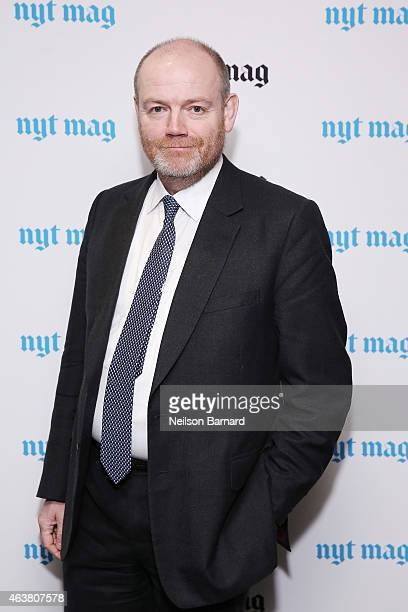 CEO of The New York Times Company Mark Thompson attends The New York Times Magazine Relaunch Event on February 18 2015 in New York City