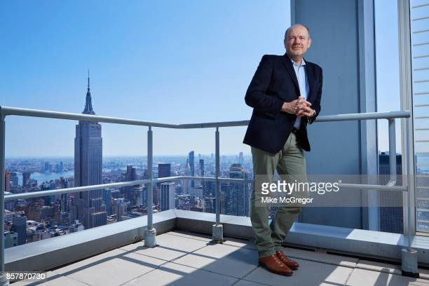 CEO of The New York Times Company Mark Thompson is photographed for The Observer Magazine's New Review on August 30 2017 in New York City PUBLISHED...