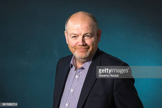 CEO of the New York Times Mark Thompson attends a photocall at Edinburgh International Book Festival at Charlotte Square Gardens on August 29 2016 in...