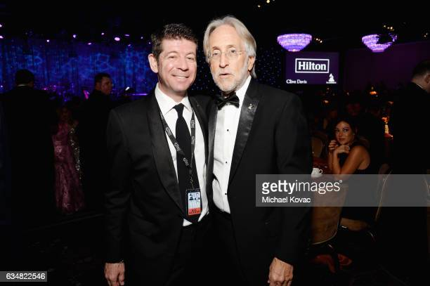CMO of The Recording Academy Evan Greene and President/CEO of The Recording Academy and GRAMMY Foundation President/CEO Neil Portnow attend PreGRAMMY...