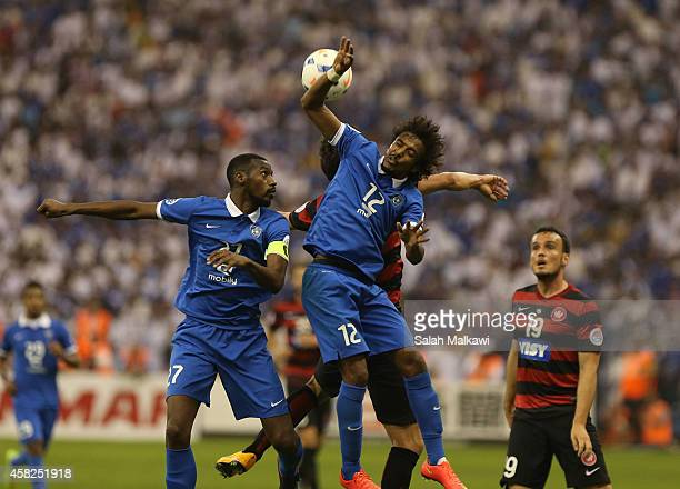 STANLEY of the Wanderers competes with YASIR AL SHAHRANI of Al Hilal during the Asian Champions League final match between Al Hilal and the Western...