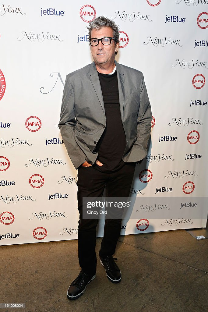 CEO of Theory and Helmut Lang, Andrew Rosen attends the Meatpacking District Improvement Association first annual fundraiser OPEN MARKET at Highline Stages on March 18, 2013 in New York City.