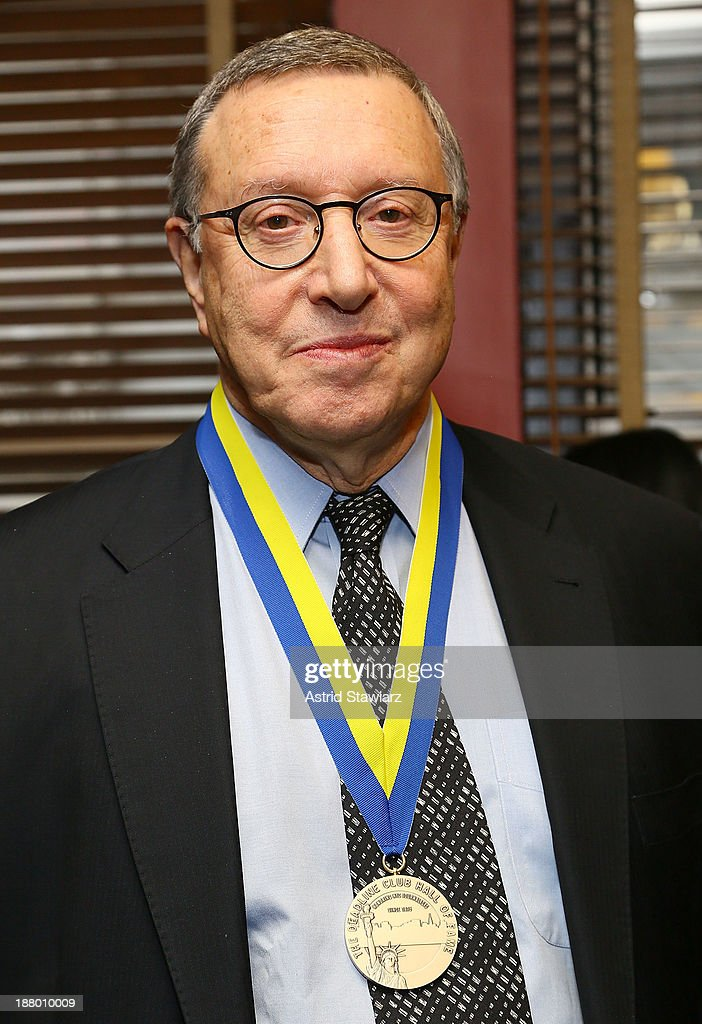 CCO of Time Inc., Norman Pearlstine attends the The Deadline Club's New York Journalism Hall of Fame 2013 Luncheon at Sardi's on November 14, 2013 in New York City.