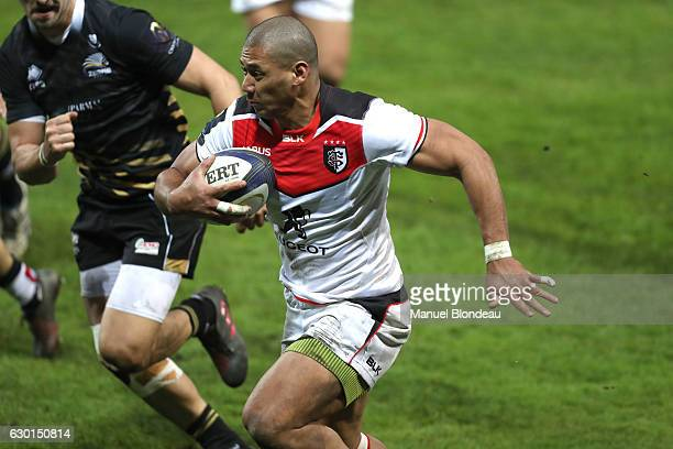 XXXX of Toulouse during the European Champions Cup match between Stade Toulousain and Zebre at Stade Ernest Wallon on December 17 2016 in Toulouse...