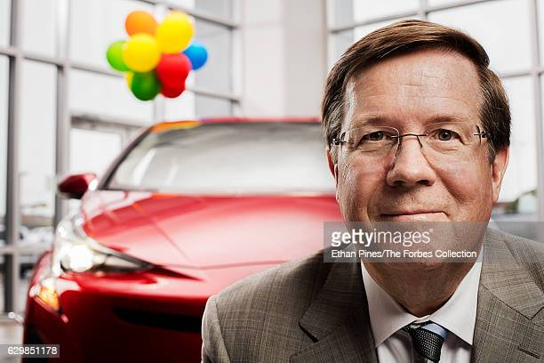 CEO of Toyota North America Jim Lentz is photographed for Forbes Magazine on April 19 2016 in Plano Texas PUBLISHED IMAGE CREDIT MUST READ Ethan...