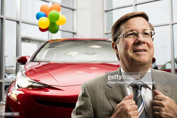 CEO of Toyota North America Jim Lentz is photographed for Forbes Magazine on April 19 2016 in Plano Texas CREDIT MUST READ Ethan Pines/The Forbes...