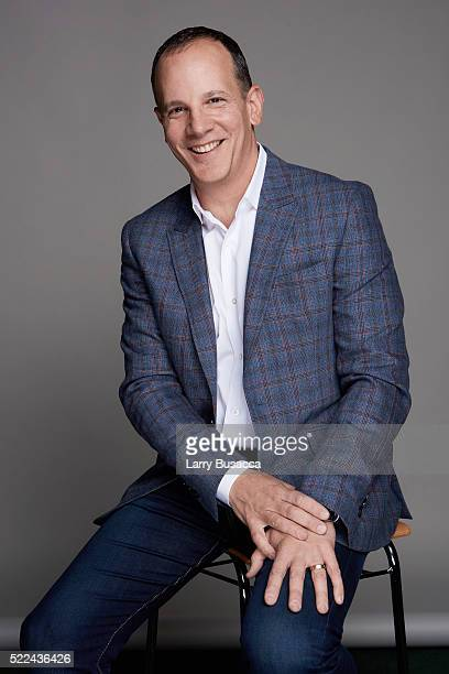 CEO of Tribeca Enterprises Andrew Essex poses for a portrait during the Juror Welcome Lunch at the 2016 Tribeca Film Festival on April 14 2016 in New...