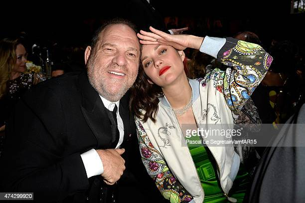 CEO of TWC Harvey Weinstein and Actress Marion Cotillard attend amfAR's 22nd Cinema Against AIDS Gala Presented By Bold Films And Harry Winston at...