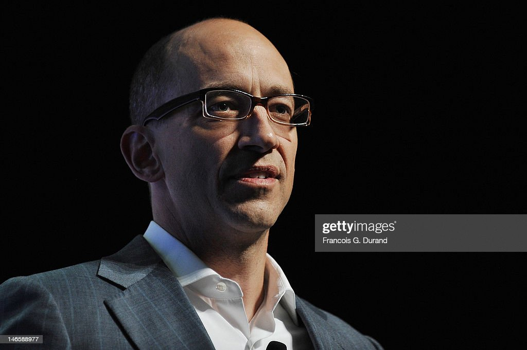 CEO of Twitter Dick Costolo attends The Twitter Seminar as part of Cannes Lions 59th International Festival of Creativity on June 20 2012 in Cannes...