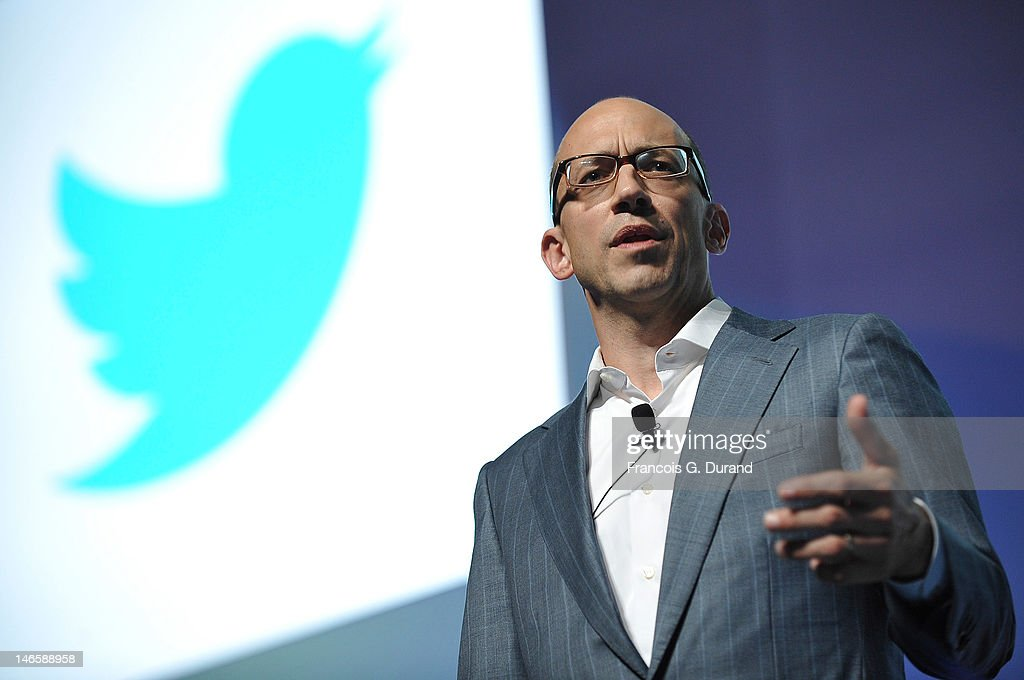 CEO of Twitter Dick Costolo speaks during The Twitter Seminar as part of Cannes Lions 59th International Festival of Creativity on June 20 2012 in...