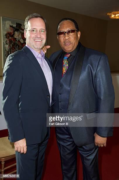CEO of UPtv Charley Humbard and Gospel Host Bobby Jones