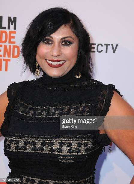 VP of video marketing ATT's Hanny Patel attends screening of Saban Films and DIRECTV's' 'Shot Caller' at The Theatre at Ace Hotel on August 15 2017...